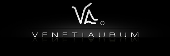 Logo Venetiaurum Murano Glass products