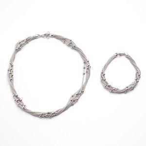 Braccialetti Linea Italia in argento fatti a murano