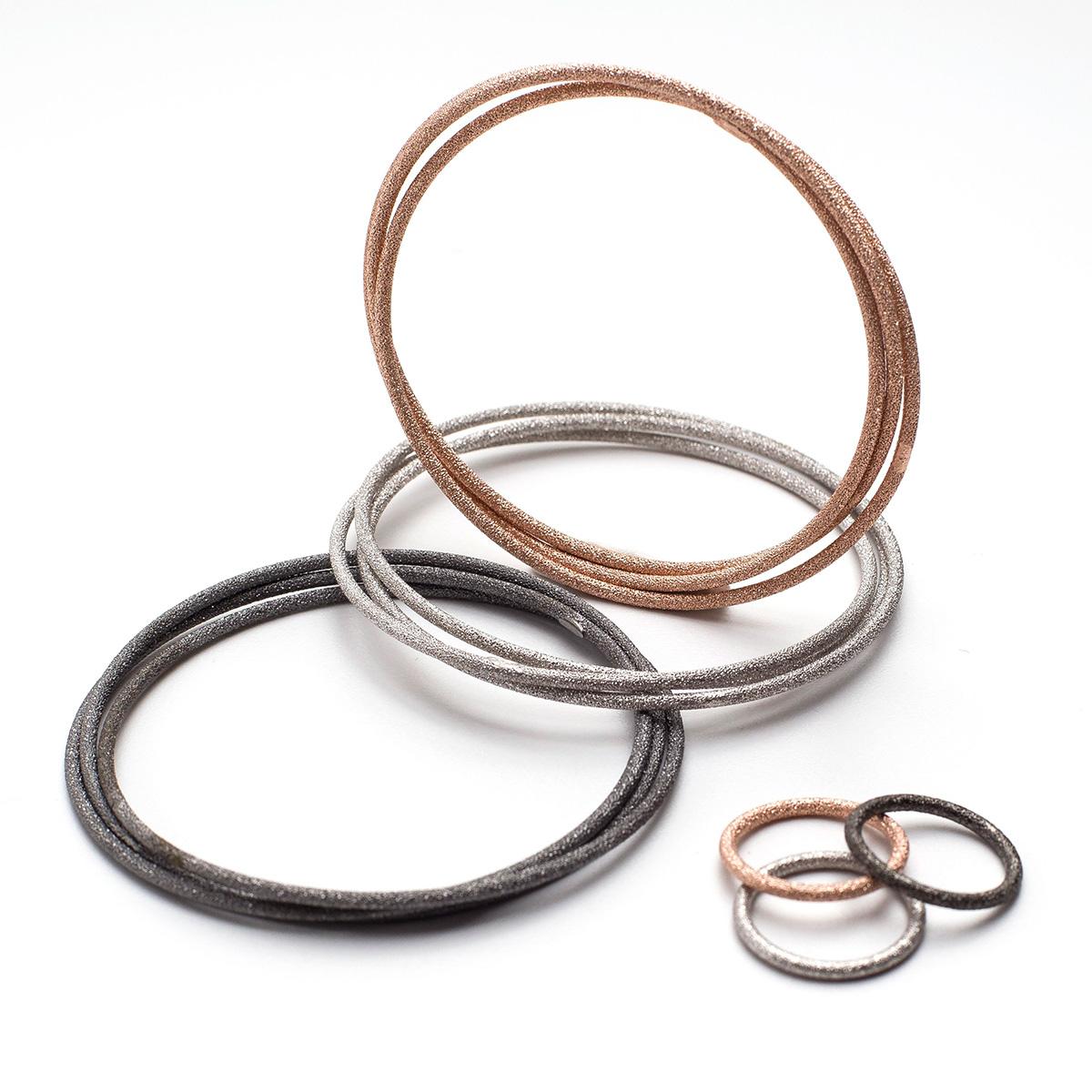 italian collection braccialetti e anelli fatti a murano