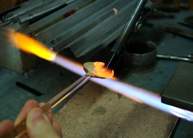 Il processo produttivo del vetro di Murano