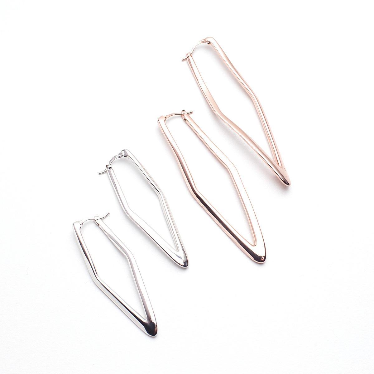 Linea Italia silver earrings made in italy